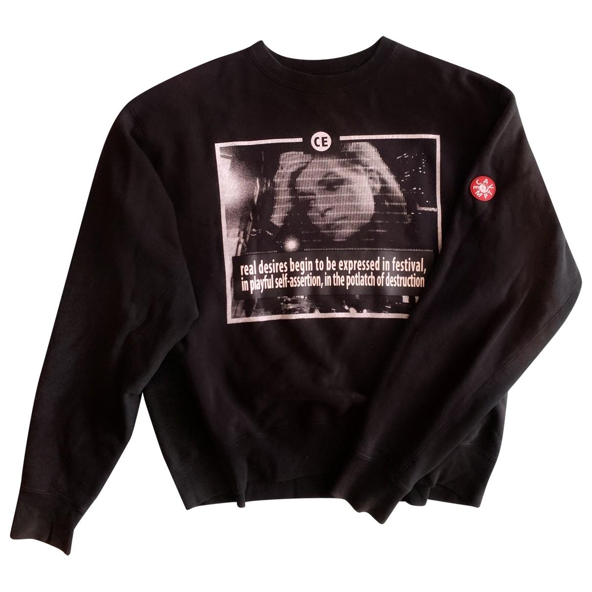 Cav Empt \N Pullover.Westen.Sweatshirts  in  Schwarz Baumwolle