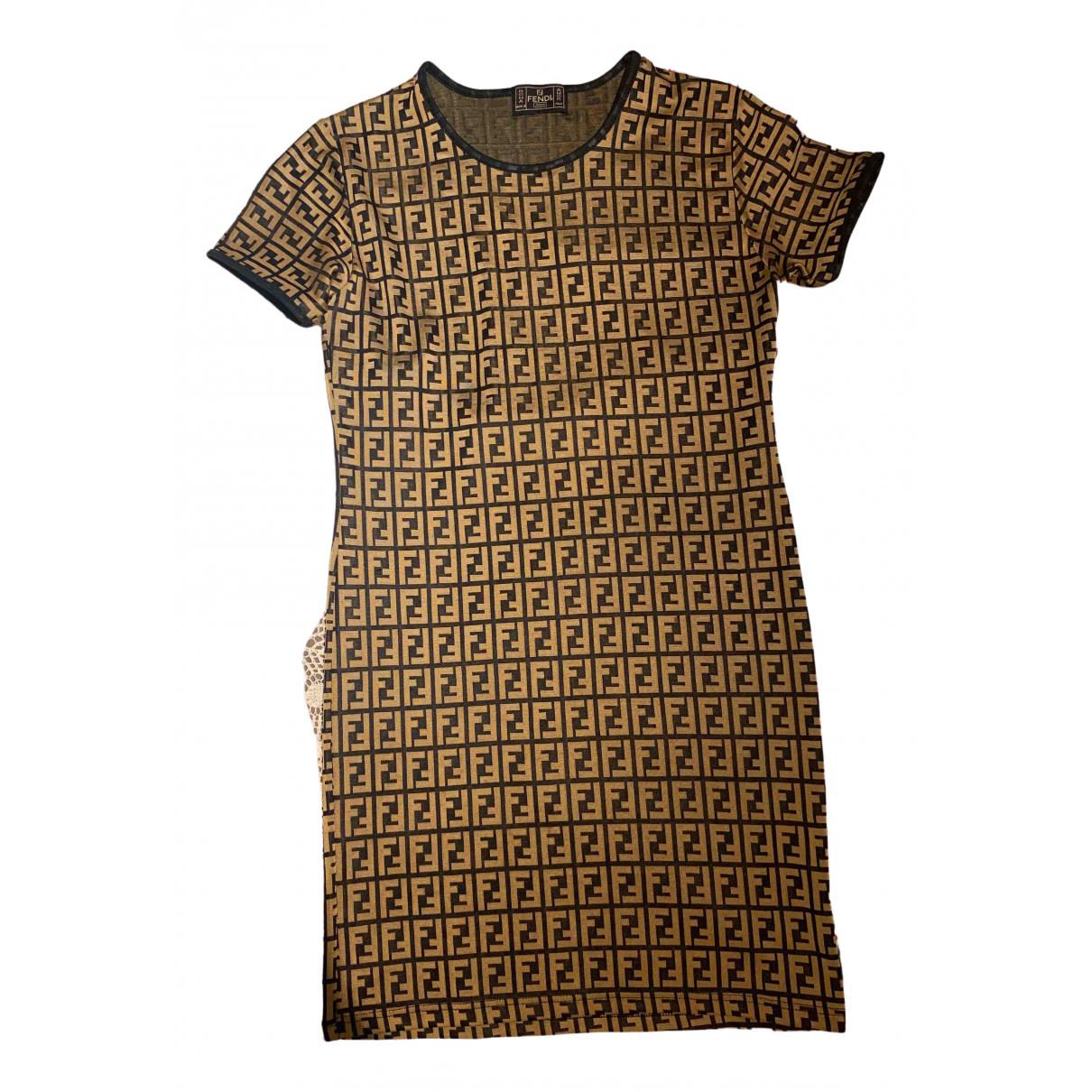 Fendi \N Camel dress for Women 42 IT