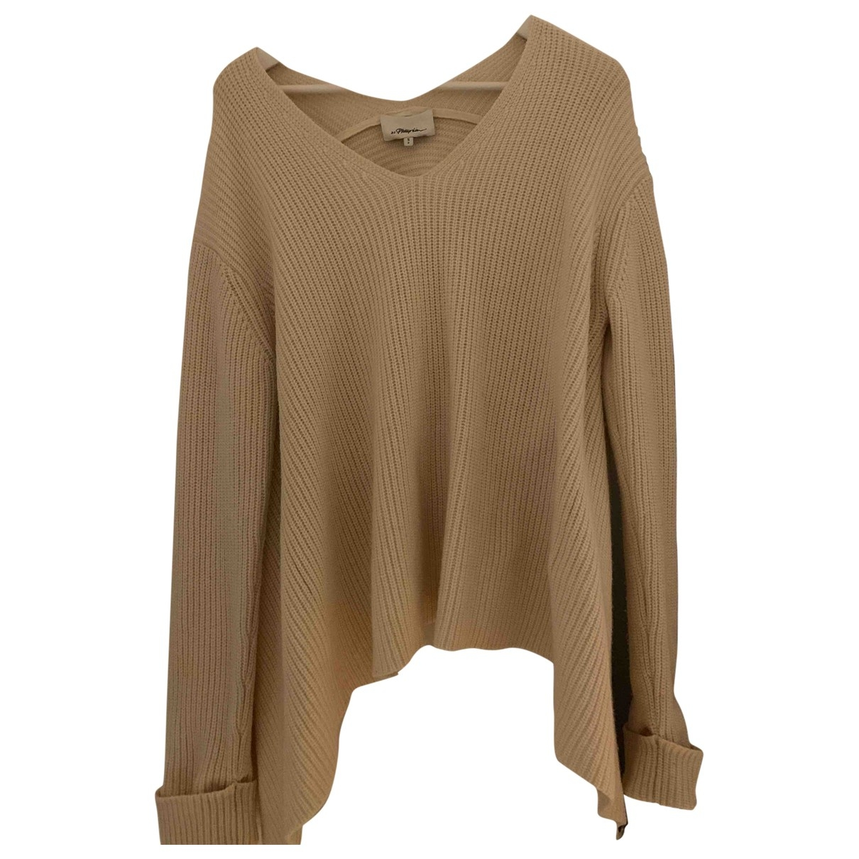 3.1 Phillip Lim - Pull   pour femme en laine - beige
