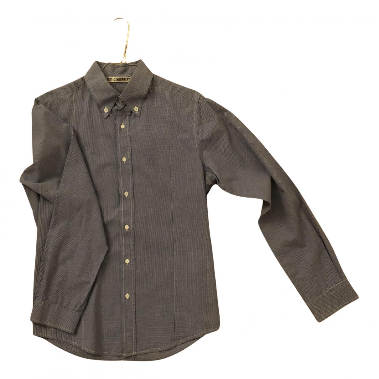 Golden Goose - Chemises   pour homme en coton - bleu
