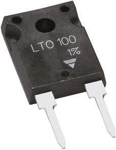 Vishay 4.7Ω Thick Film Resistor 100W ±5% LTO100F4R700JTE3