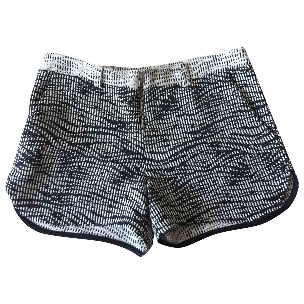 Ba&sh \N Shorts in  Schwarz Viskose