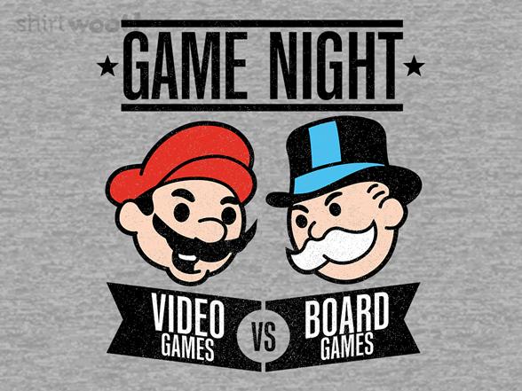 Game Night T Shirt