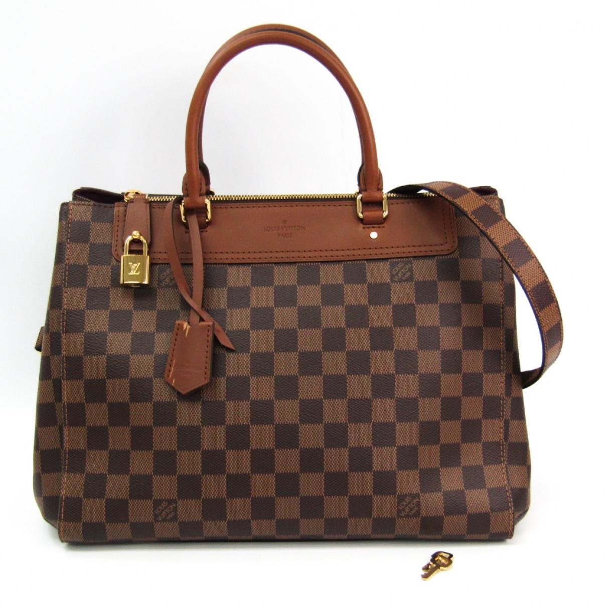 Louis Vuitton Greenwich Brown Cloth handbag for Women \N