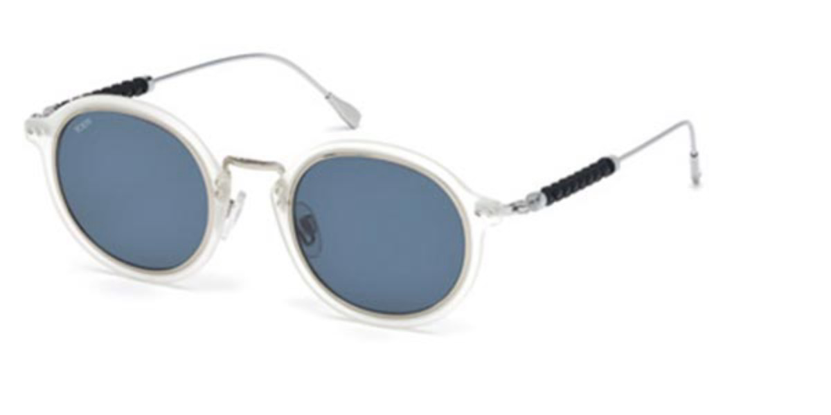 TODS TO0217 26V Men's Sunglasses Clear Size 48