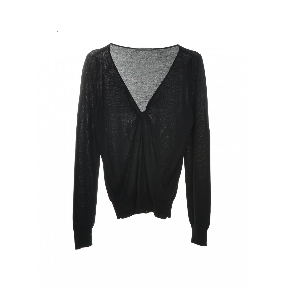 Alexander Mcqueen \N Black Cotton Knitwear for Women S International