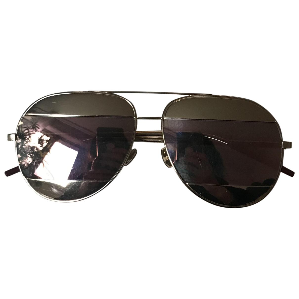 Dior Split Gold Metal Sunglasses for Women N