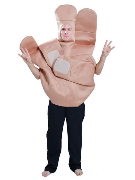 Milanoo Funny Costume Palm Adults Unisex Halloween Costumes
