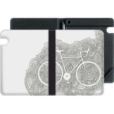 Amazon Kindle Voyage eBook Reader Huelle - Bike Drawing Meditation von Kaitlyn Parker