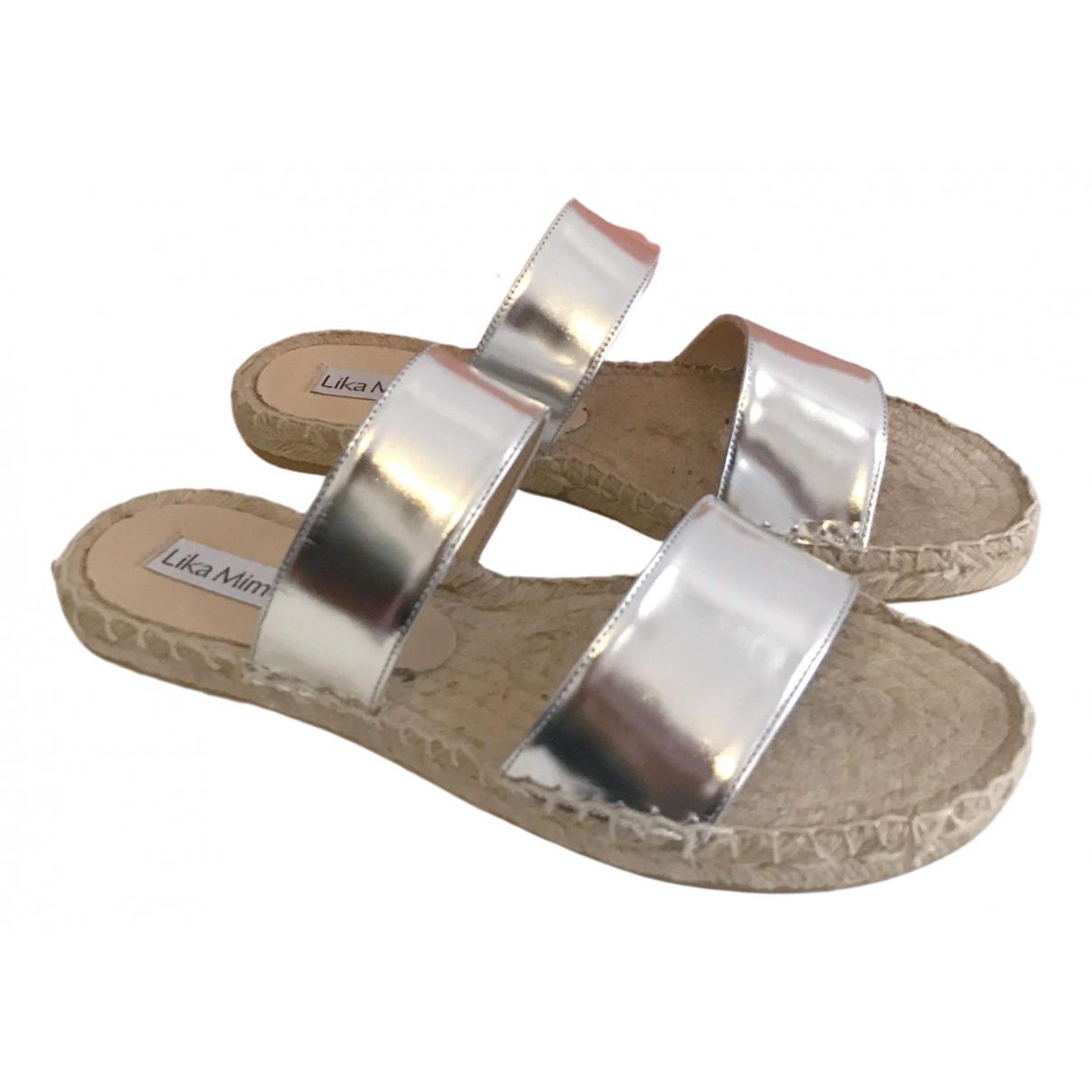 Sandalias de Cuero Lika Mimika