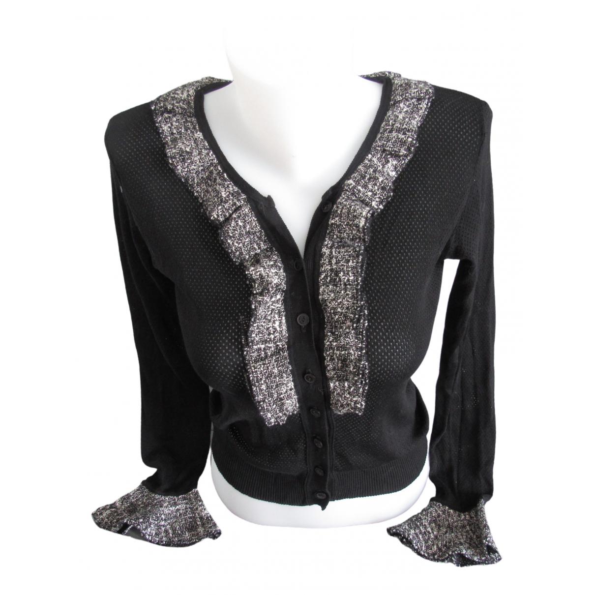 Anne Fontaine - Pull   pour femme en coton - noir