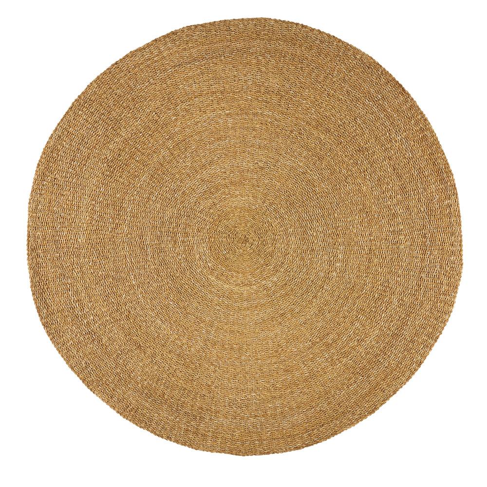 Teppich aus Binsengeflecht D.180cm ENSO