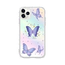 1pc Butterfly Pattern Laser iPhone Case