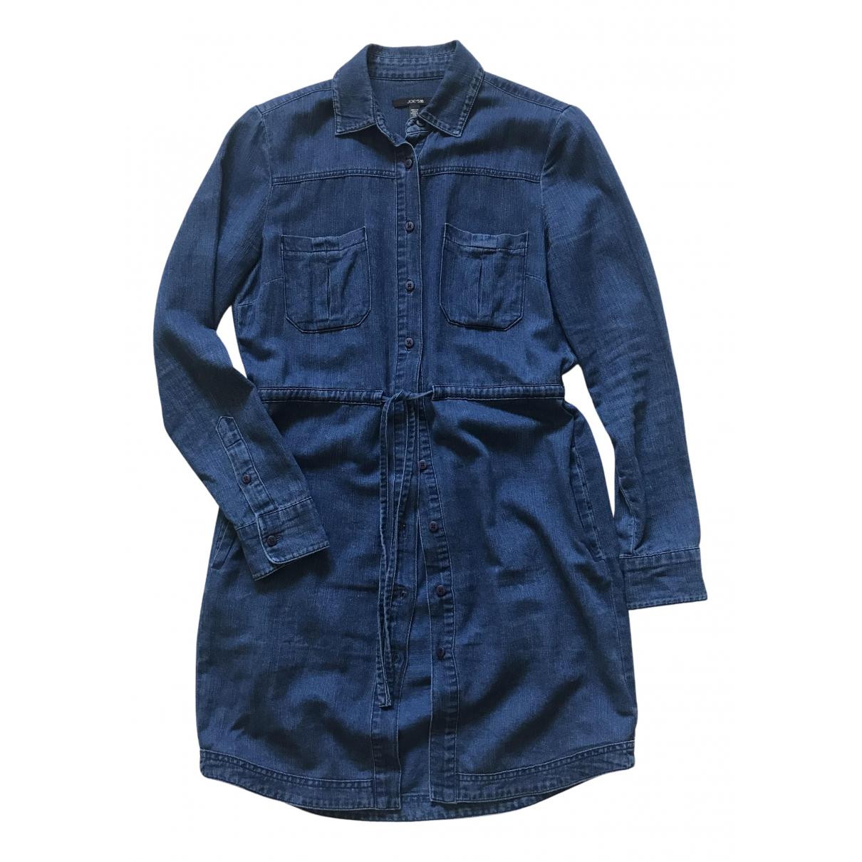 Joes \N Kleid in  Blau Baumwolle