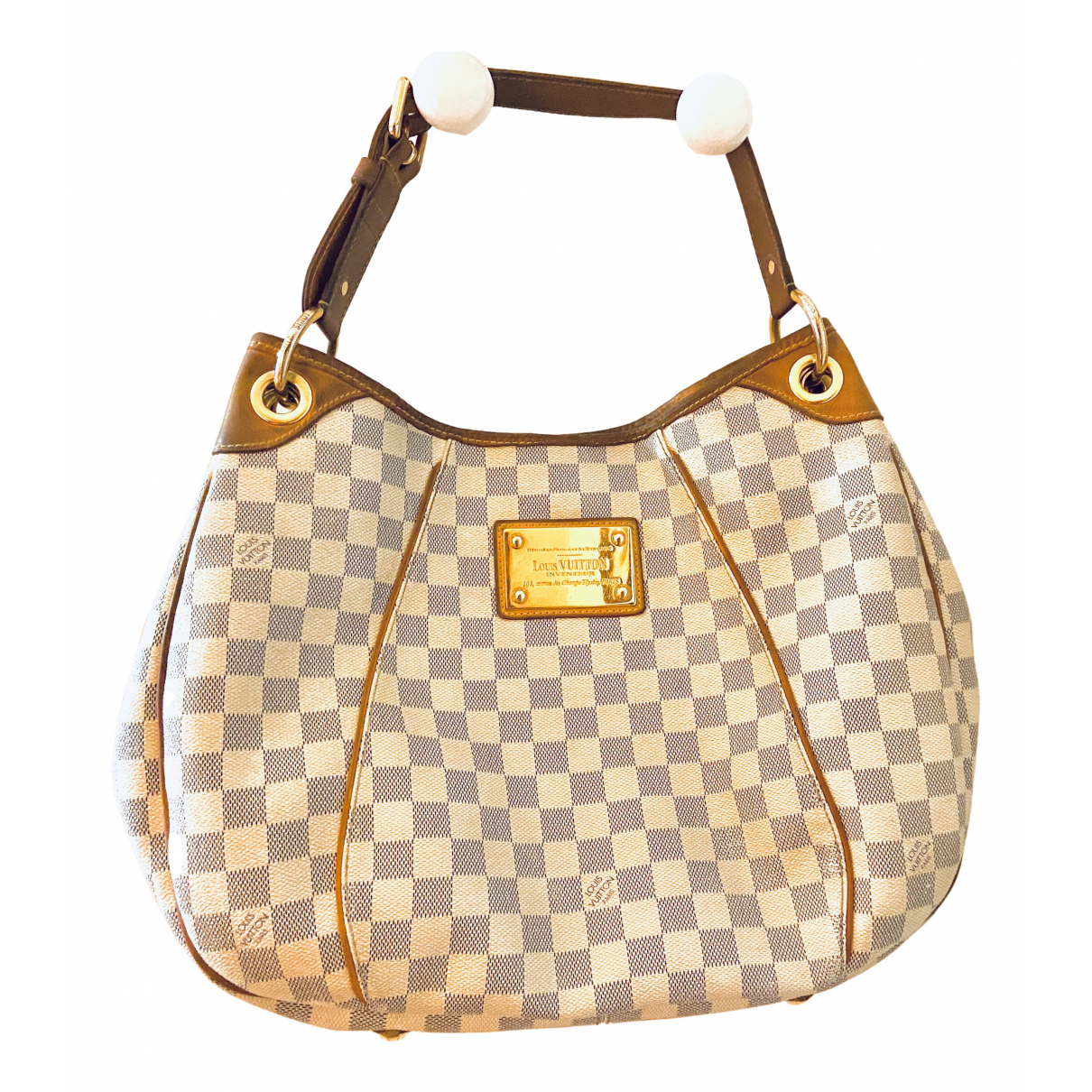 Louis Vuitton Galliera Ecru Cloth handbag for Women N
