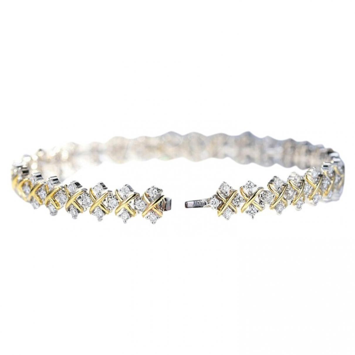 - Bracelet   pour femme en or blanc