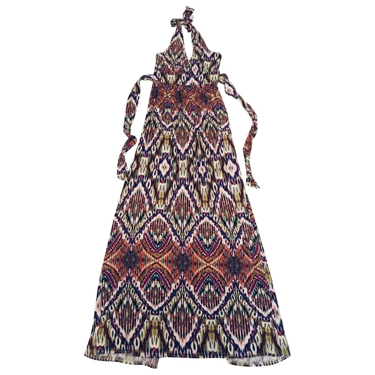 Non Signé / Unsigned \N Multicolour Cotton - elasthane dress for Women XS International