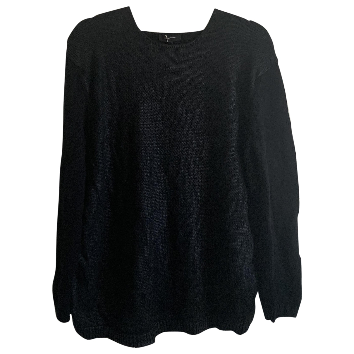Unconditional \N Pullover.Westen.Sweatshirts  in  Schwarz Wolle