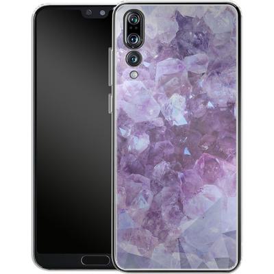 Huawei P20 Pro Silikon Handyhuelle - Light Crystals von Emanuela Carratoni