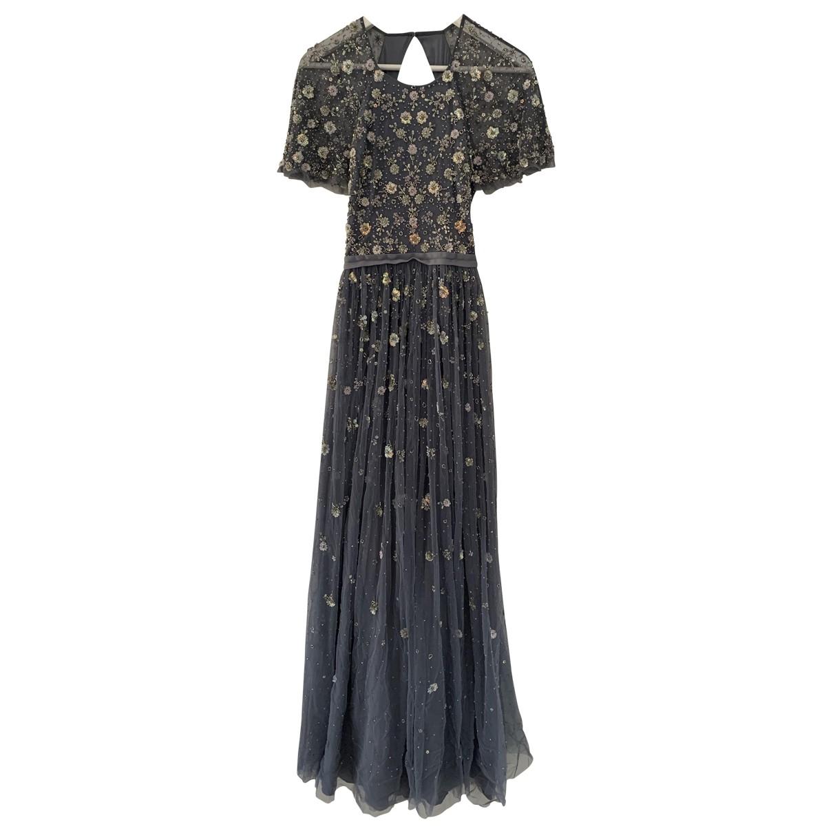 Needle & Thread \N Kleid in  Grau Viskose