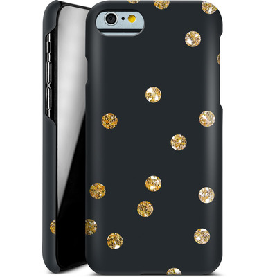 Apple iPhone 6 Smartphone Huelle - Gold Dots von Khristian Howell