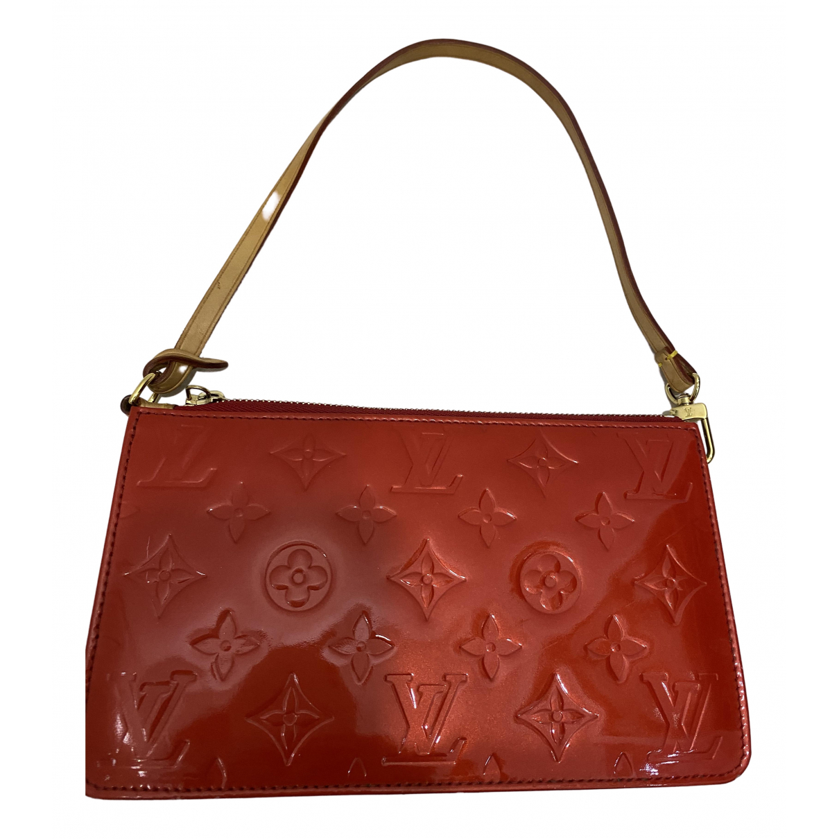 Louis Vuitton Pochette Accessoire Red Patent leather Clutch bag for Women \N