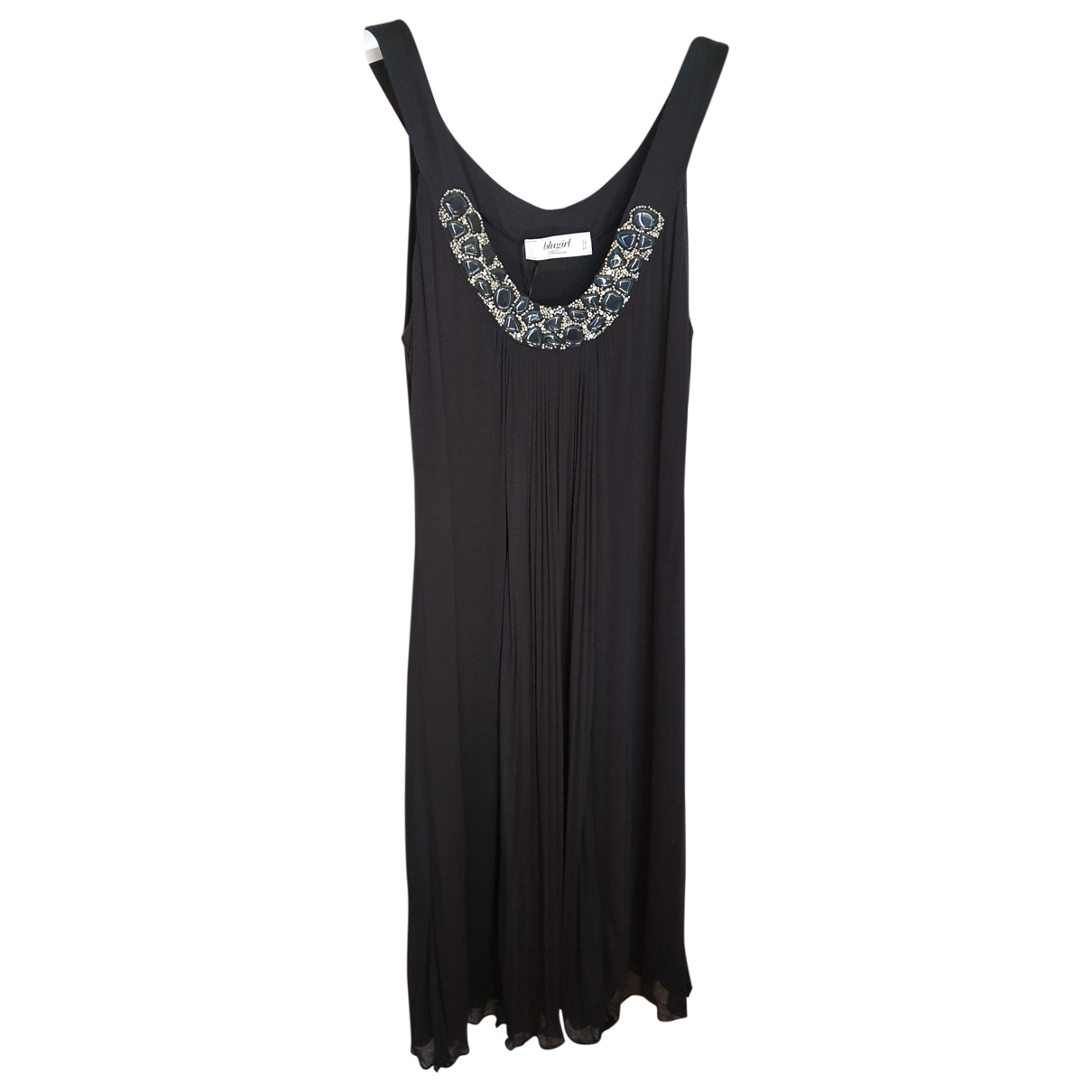Blumarine \N Black Cotton - elasthane dress for Women 46 FR