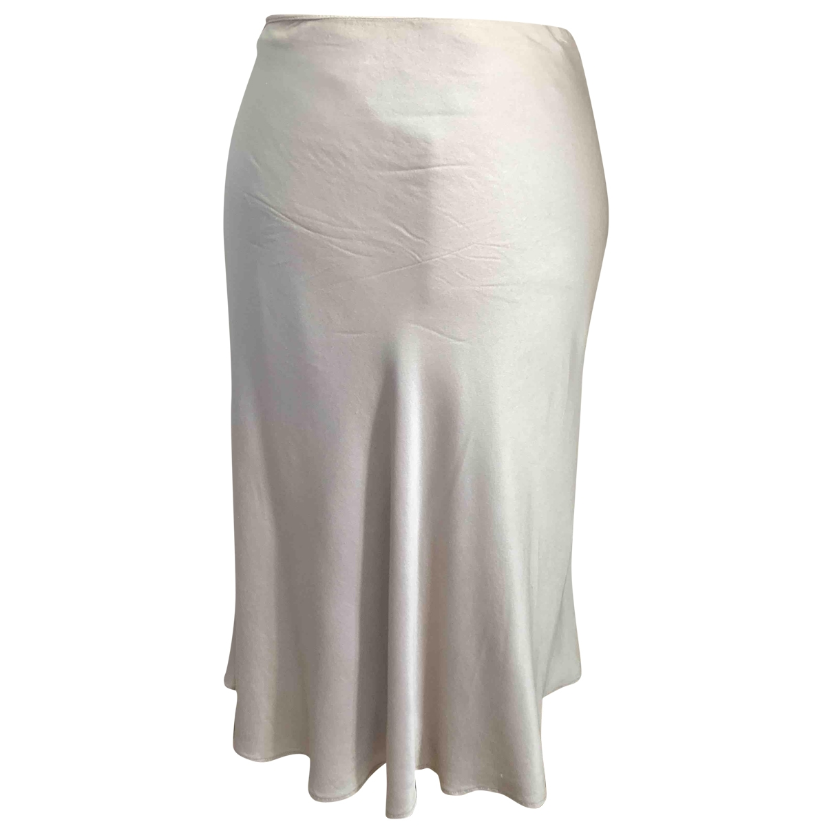 Alberta Ferretti \N Beige Silk skirt for Women M International