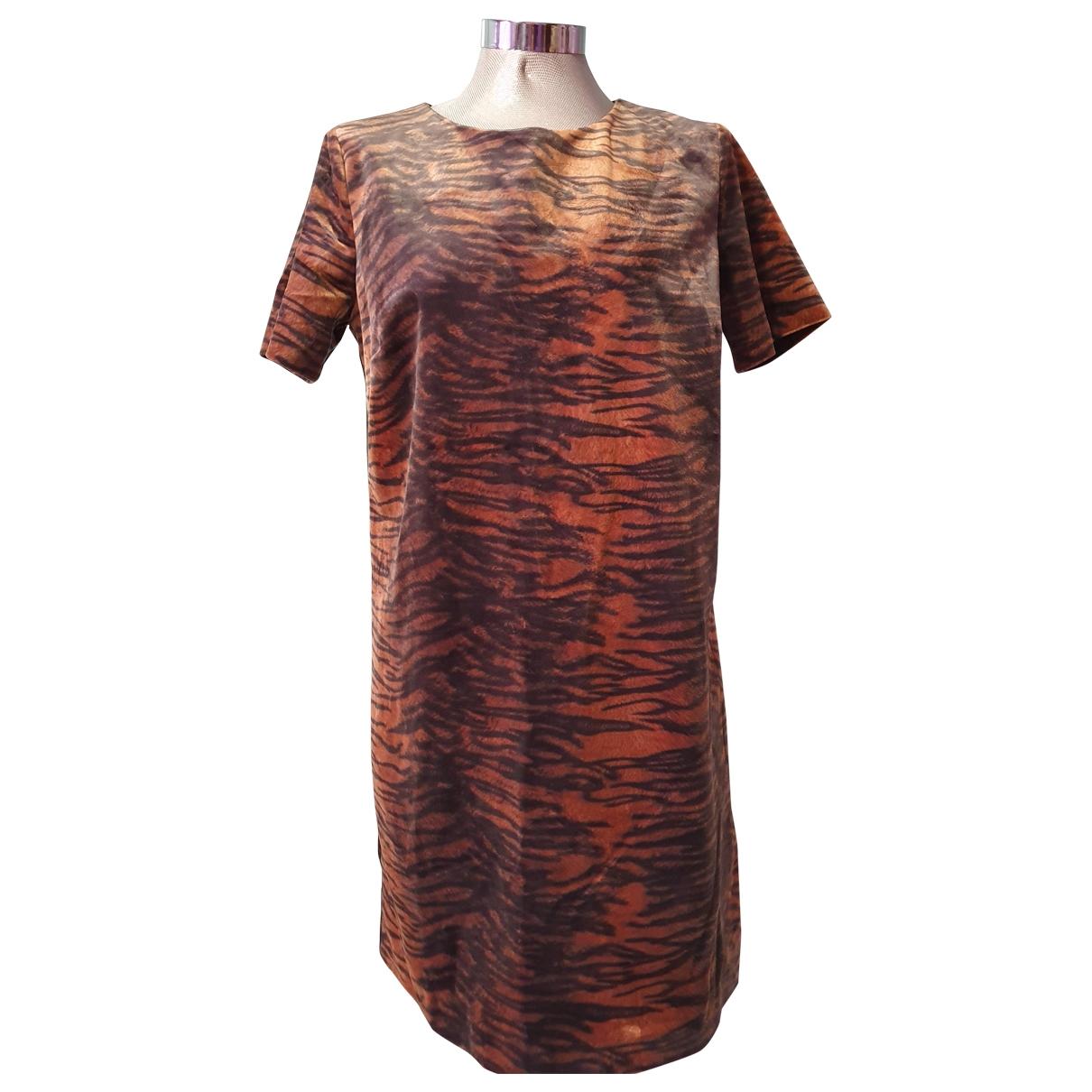 Mango - Robe   pour femme - marron