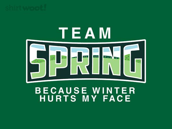Team Spring T Shirt