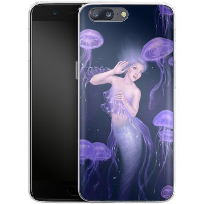 OnePlus 5 Silikon Handyhuelle - Rachel Anderson - Bioluminescence von TATE and CO
