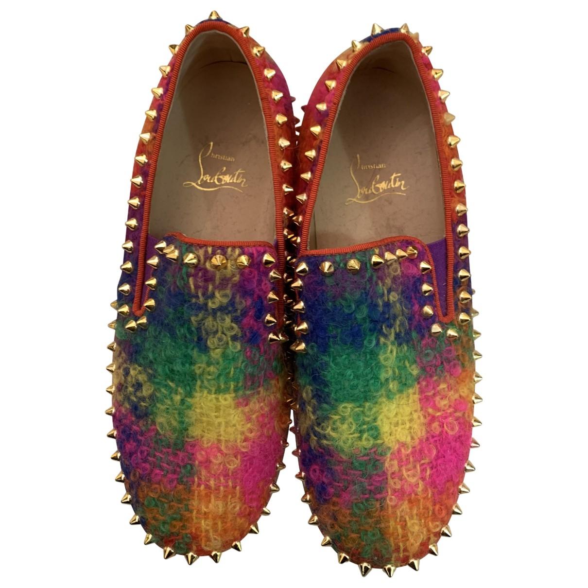 Christian Louboutin \N Sneakers in  Bunt Tweed