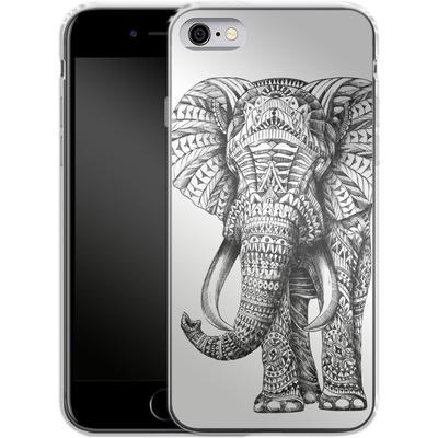 Apple iPhone 6 Silikon Handyhuelle - Ornate Elephant von BIOWORKZ