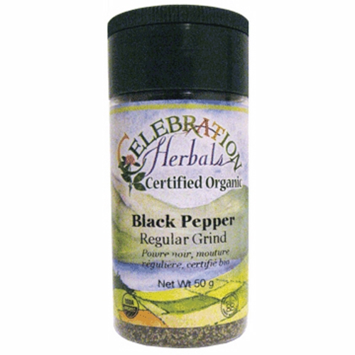 Pepper Black Regular Ground 50 Grams by Celebration Herbals