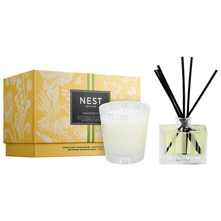 NEST New York Mini Grapefruit Candle & Diffuser Set, One Size , Multiple Colors