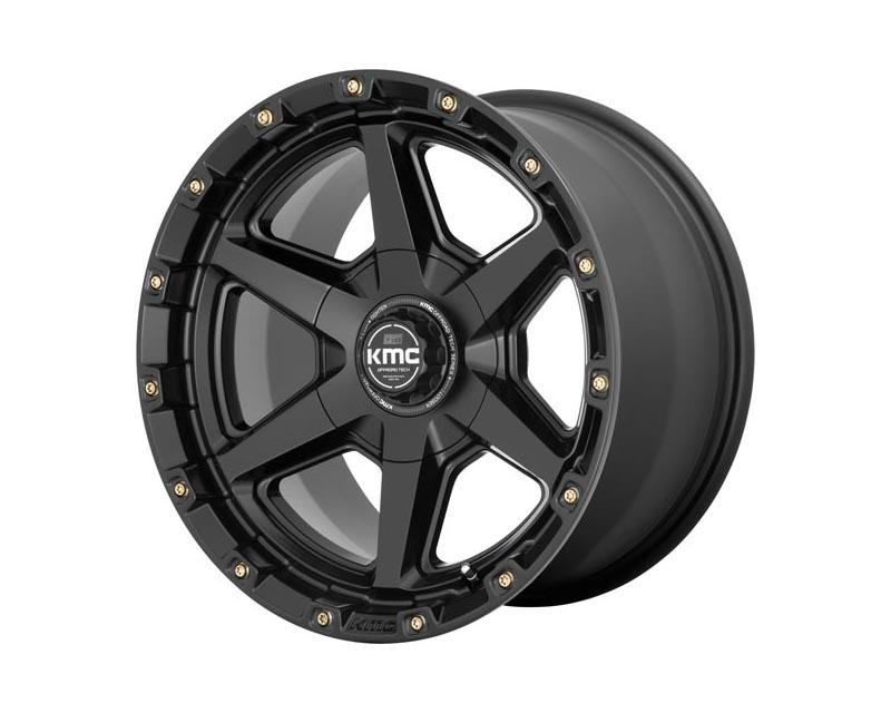 KMC Signal Wheel 20x9 5x127/5x139.7 0 Satin Black