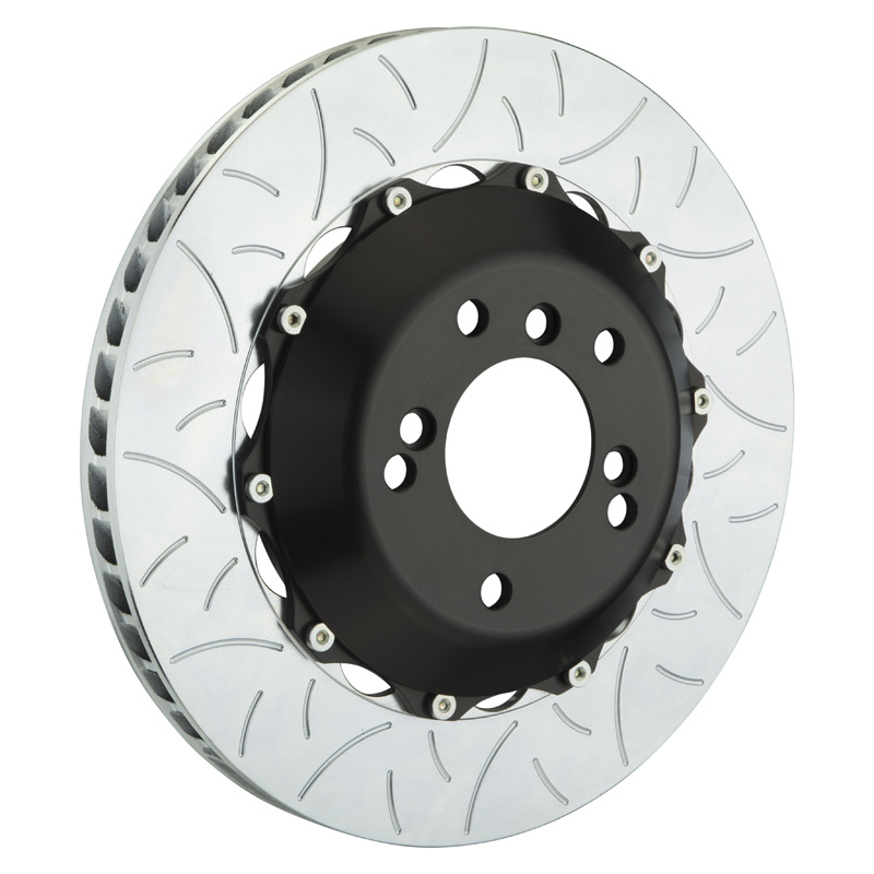 Brembo 350x28 2-Piece Slotted Rotors Type-3 Rear