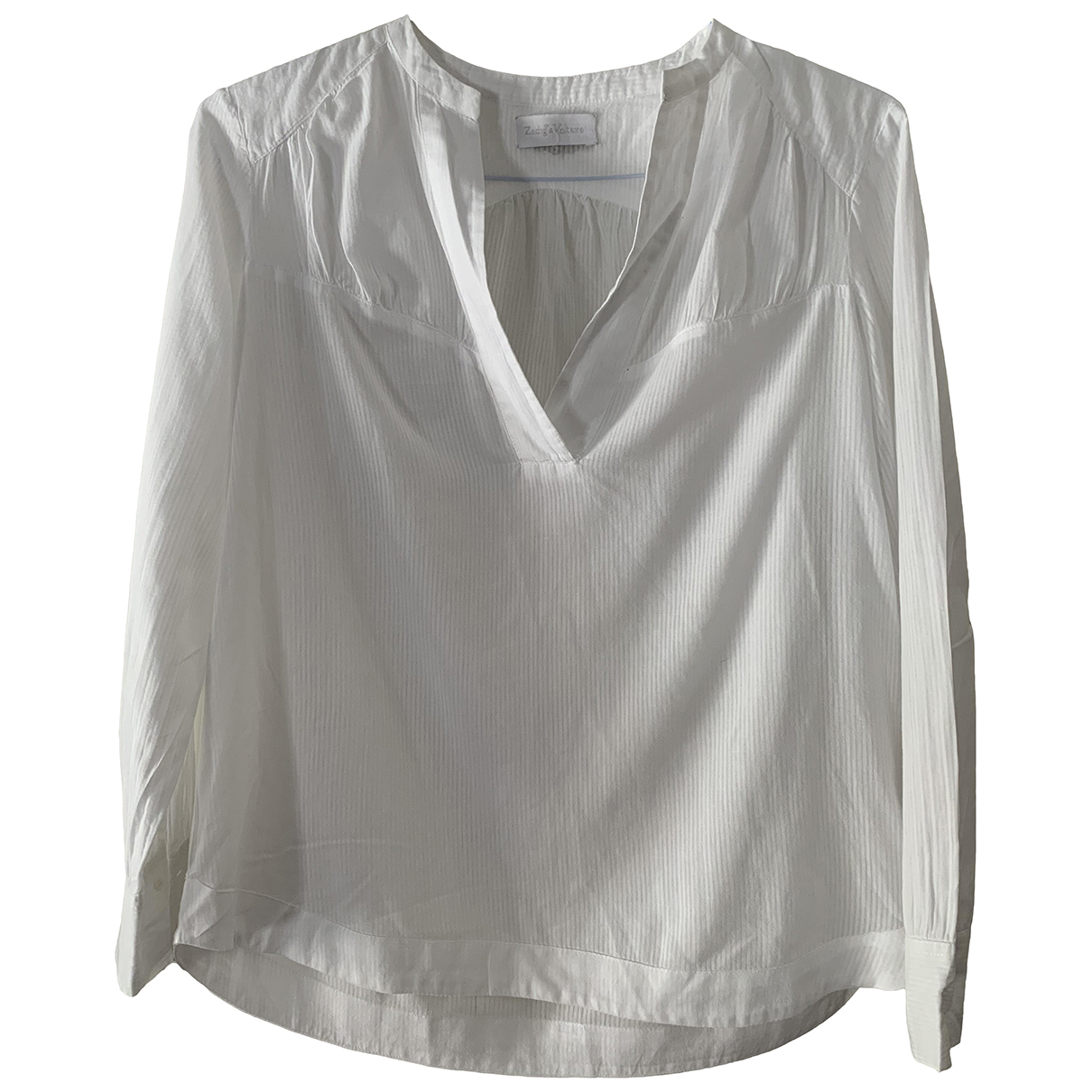 Zadig & Voltaire \N White Cotton  top for Women M International