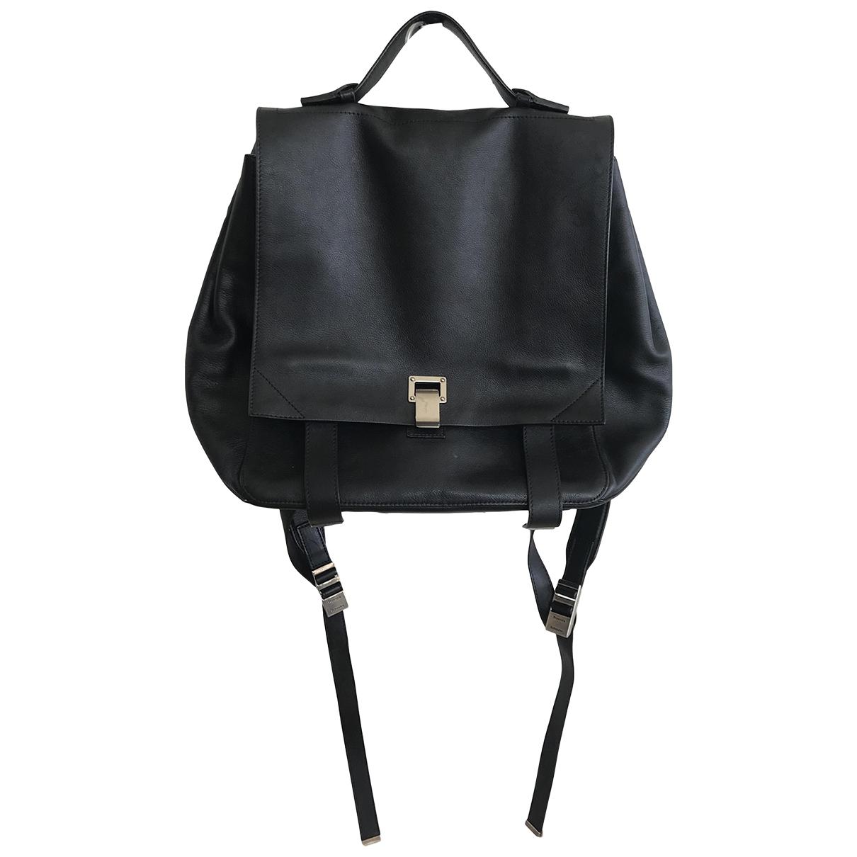 Proenza Schouler PS1 Backpack Black Leather backpack for Women \N