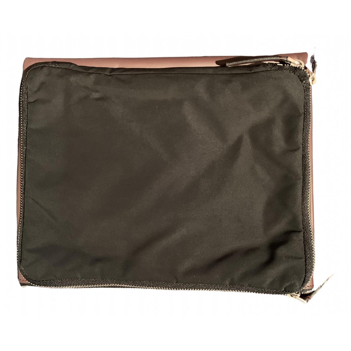 Marni \N Brown Leather Clutch bag for Women \N