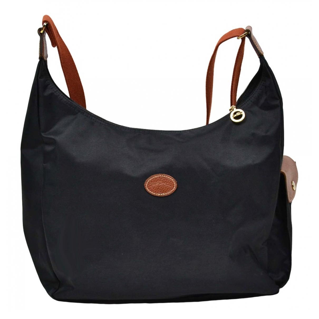 Longchamp \N Black Cloth handbag for Women \N