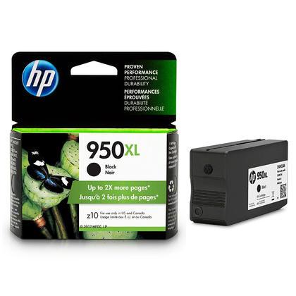 HP 950XL CN045AN#140 cartouche d'encre originale noire haute capacit�