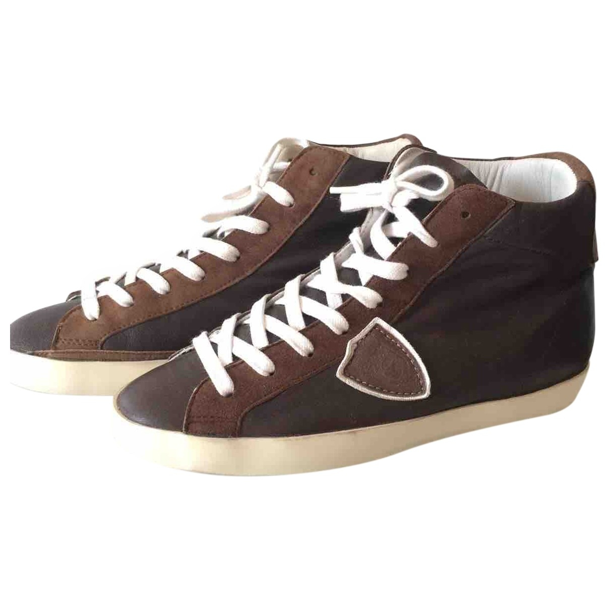 Philippe Model \N Sneakers in  Braun Leder
