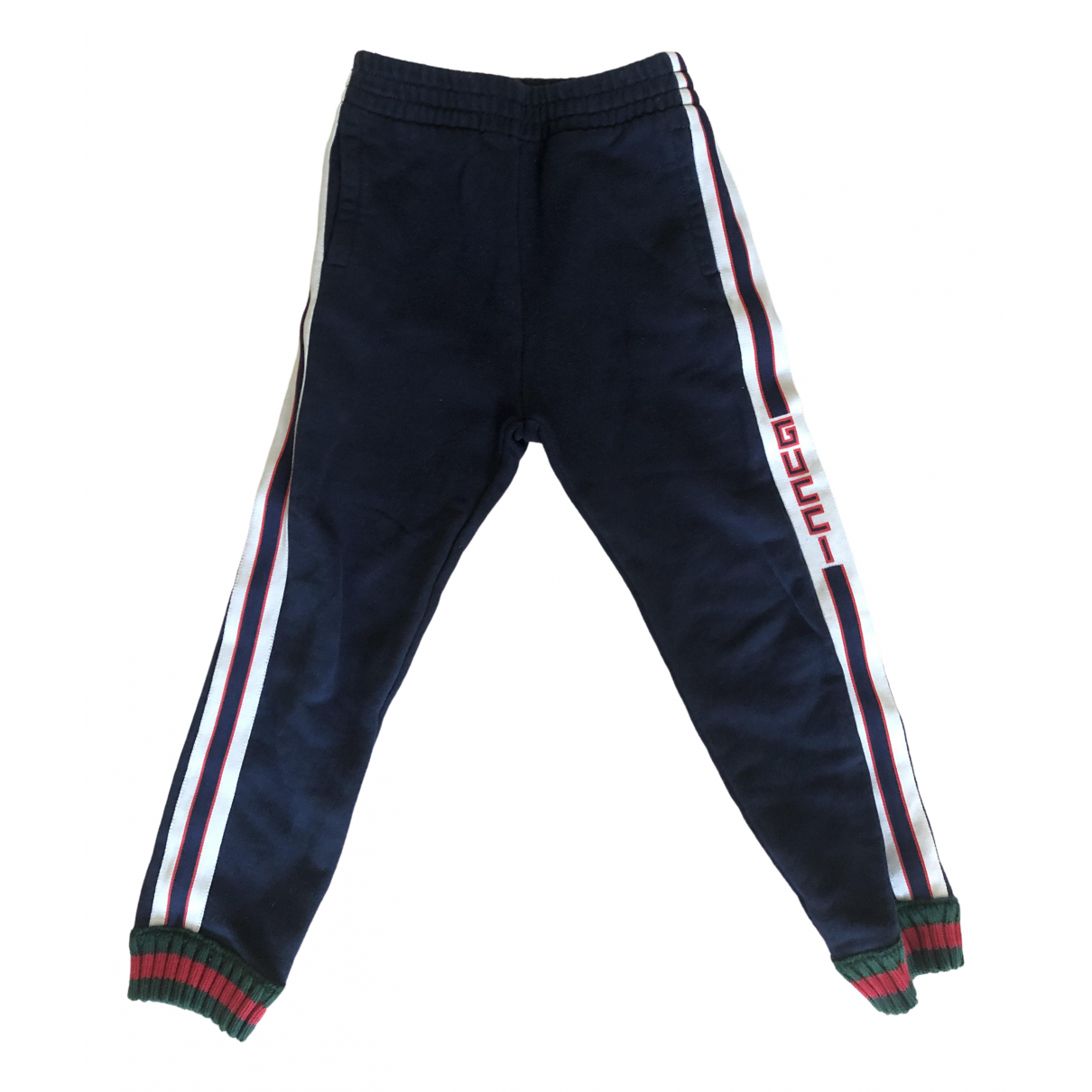 Gucci \N Blue Cotton Trousers for Kids 6 years - up to 114cm FR
