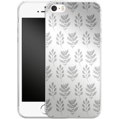 Apple iPhone 5 Silikon Handyhuelle - Botanic Studies 2 von Lucy Bohr