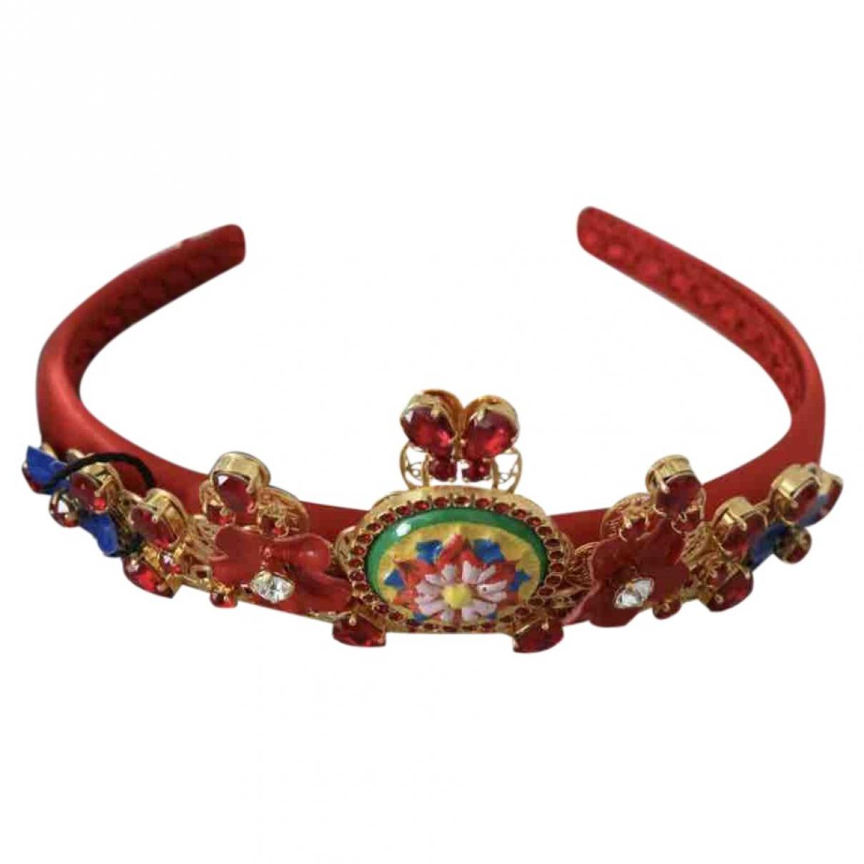 Dolce & Gabbana \N Haarschmuck in  Rot Kristall