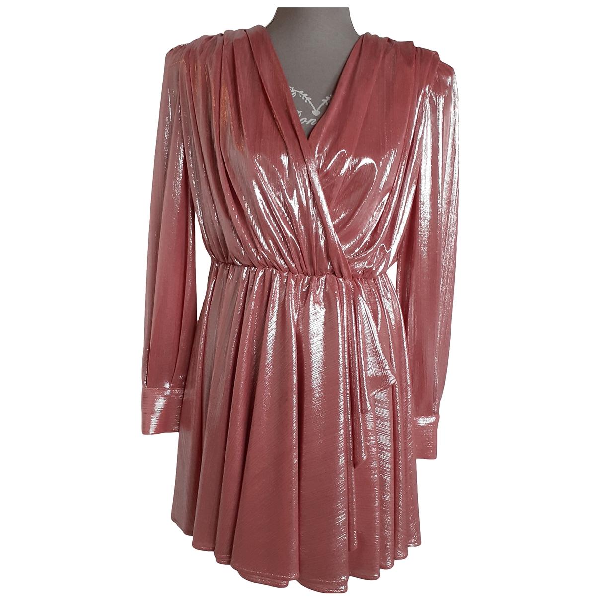 Msgm \N Pink dress for Women 40 IT