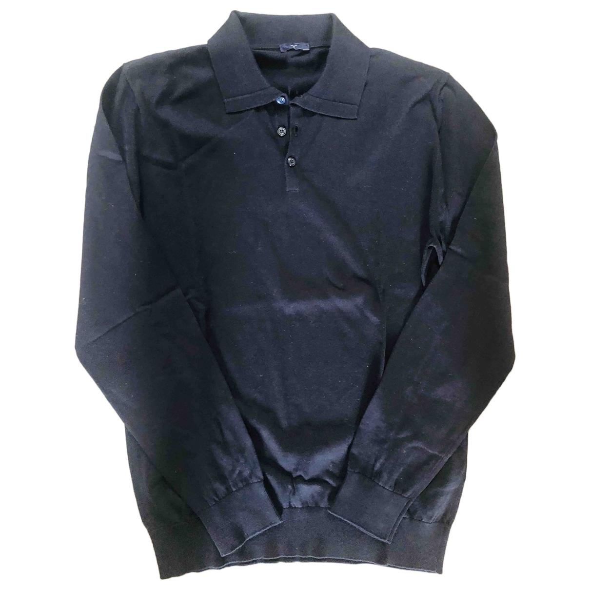 Larusmiani \N Pullover.Westen.Sweatshirts  in  Blau Baumwolle