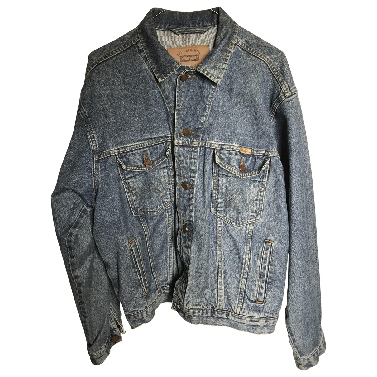 Wrangler \N Blue Denim - Jeans jacket  for Men L International