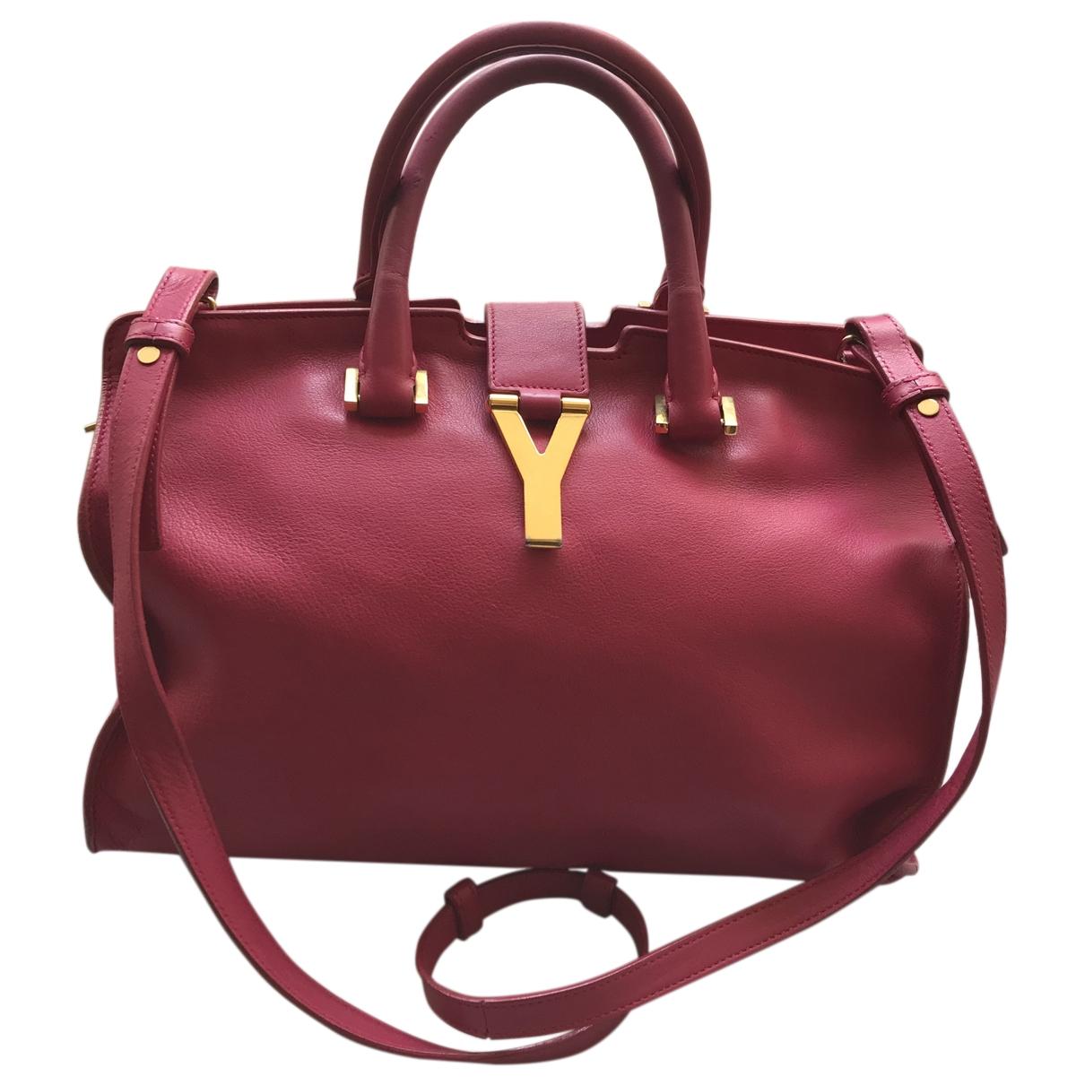Saint Laurent Chyc Pink Leather handbag for Women \N